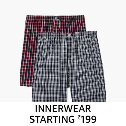 Mens innerwear starting 199