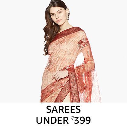 Sarees under Rs. 399