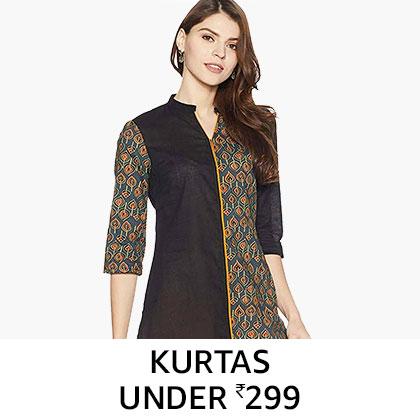 Kurtas Under Rs. 299