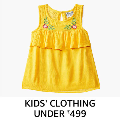 Kids clothing under 499