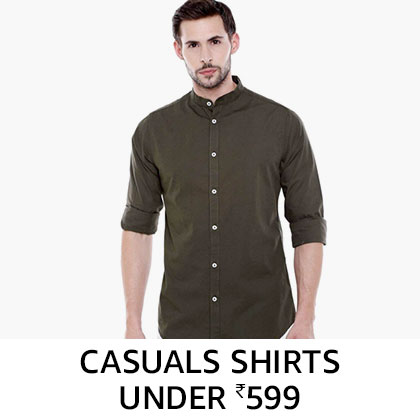 Casual Shirts Under Rs. 599