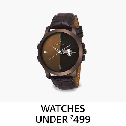 Men's watches under Rs.499