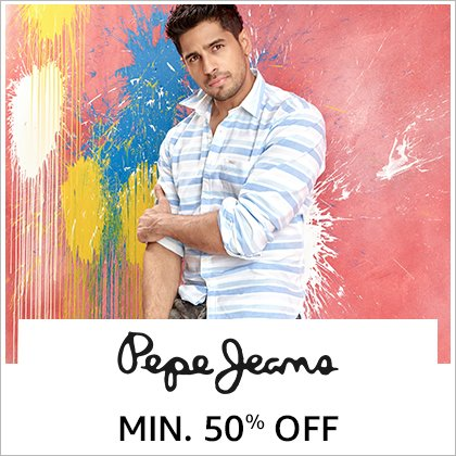 Pepe Jeans: Minimum 50% off