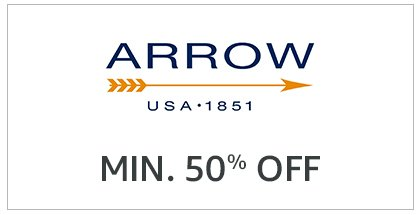 Arrow: Minimum 50% off