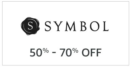 Sybol: 50% - 70% off