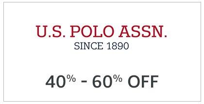 USPA: 40% - 60% off