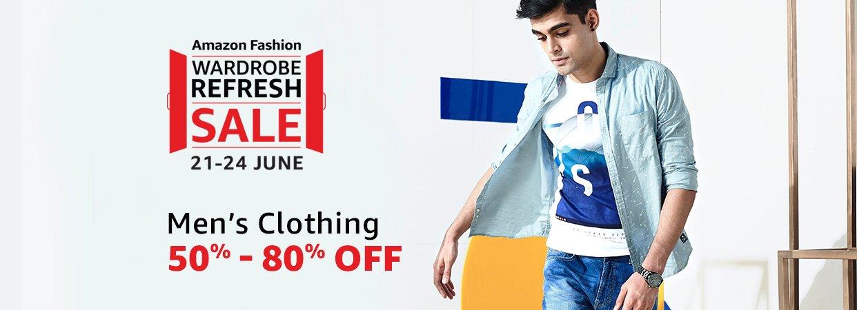 Wardrobe Refresh Sale | Men's Clothing - 50% - 80% off