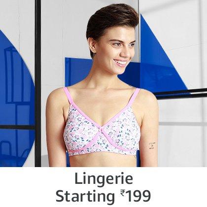 Lingerie starting 199