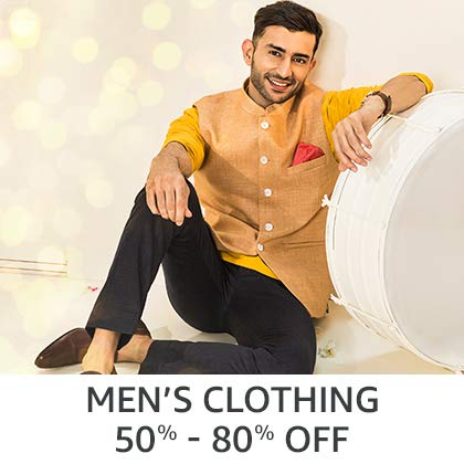 Men's Clothing 50% - 80% Off