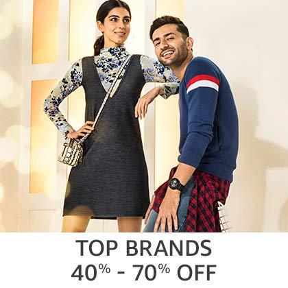 Top Brans 40% - 70% Off