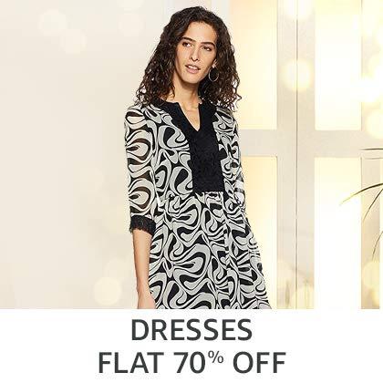 Dresses Flat 70% Off
