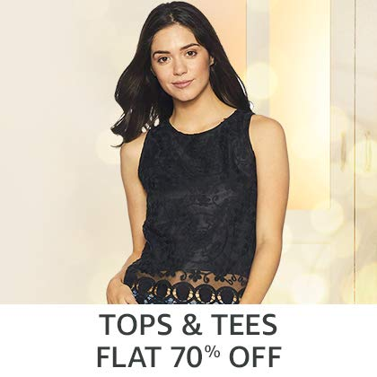 Tops Flat 70% Off