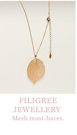 Filigiree jewellery