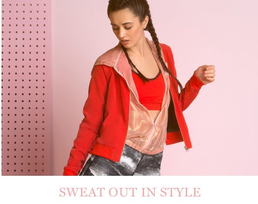 Sweat out in style