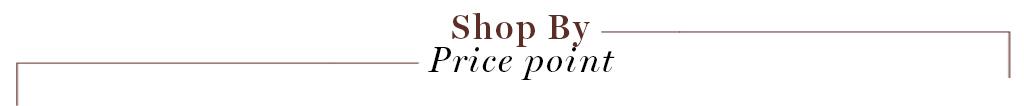 SB Price point