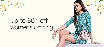 Women's Clothing: Up to 80% off
