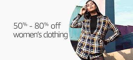 Women's Clothing: 50% - 80% off