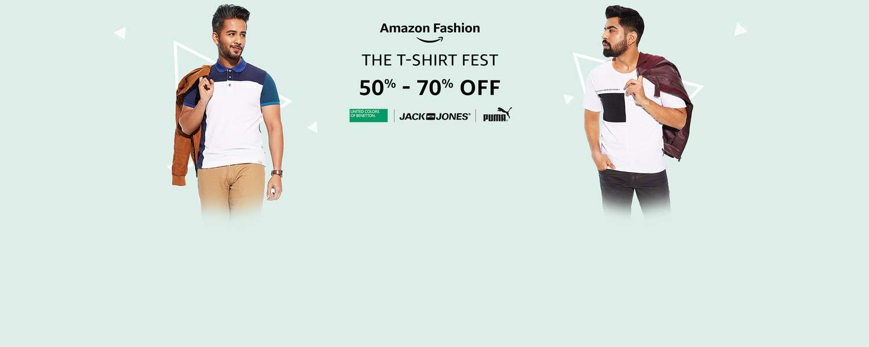 Tshirts: 50% - 70% off