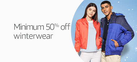 Winter wear Min 50% off