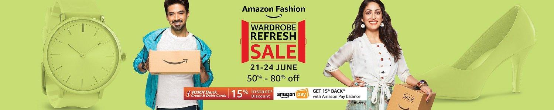 Wardrobe Refresh Sale | 50% - 80% off