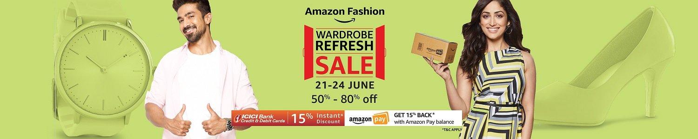 Wardrobe Refresh Sale   50% - 80% off