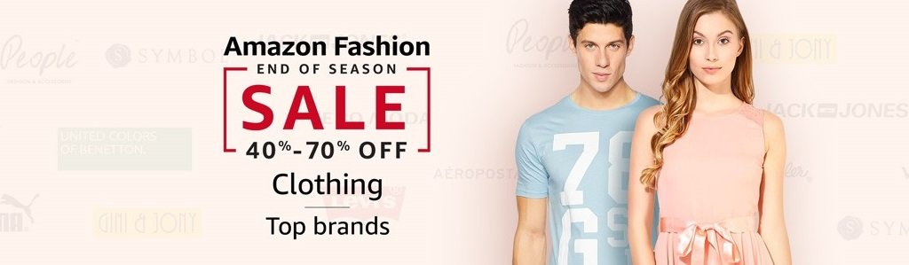 40% - 70% off | Top brands