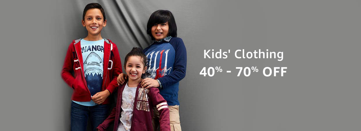 Kids clothing 40% - 70% off
