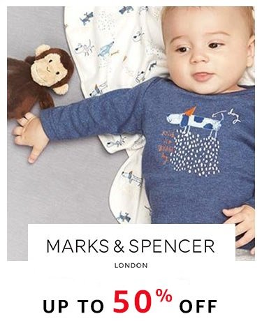 Marks & Spencers: Upto 50% off