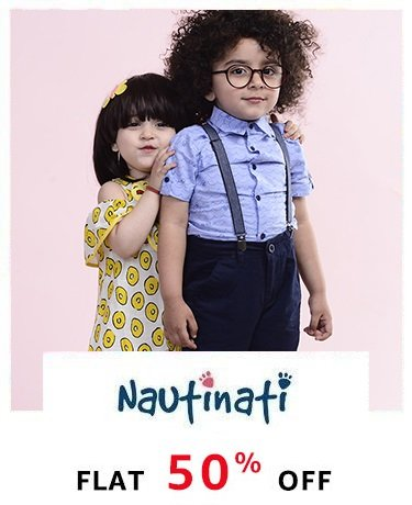 Nauti Nati: Flat 50% off