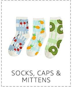 Socks, caps & mittens