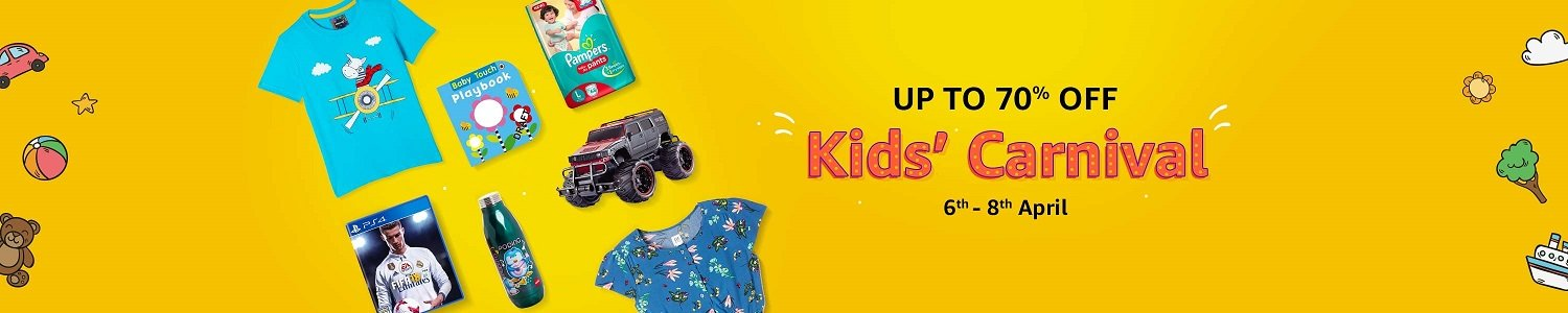 Kids' Carnival | Up to 70% off | 6th - 8th April