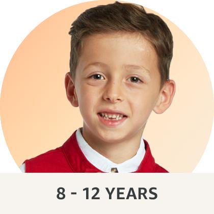 8 - 12 years