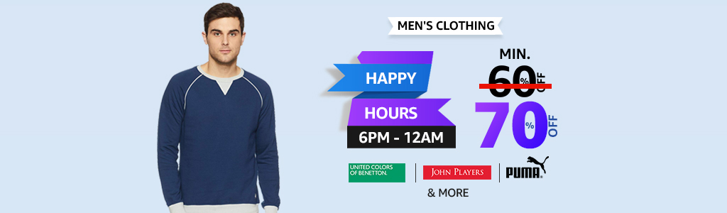 Mens Wear Buy Mens Clothes Online At Best Prices In India Amazon In