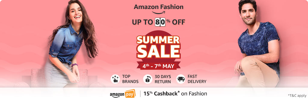 Summer sale - upto 80% off