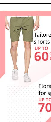 Tailored shorts: Up to 60% off