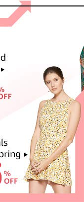 Florals for spring: Up to 70% off
