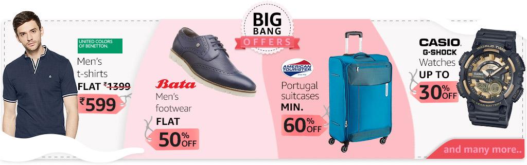 Big bang offers