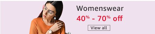 Womenswear 40% - 70% off