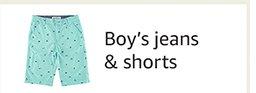Boy's jeans & shorts