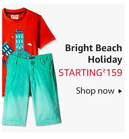 Kids bright beachy clothes