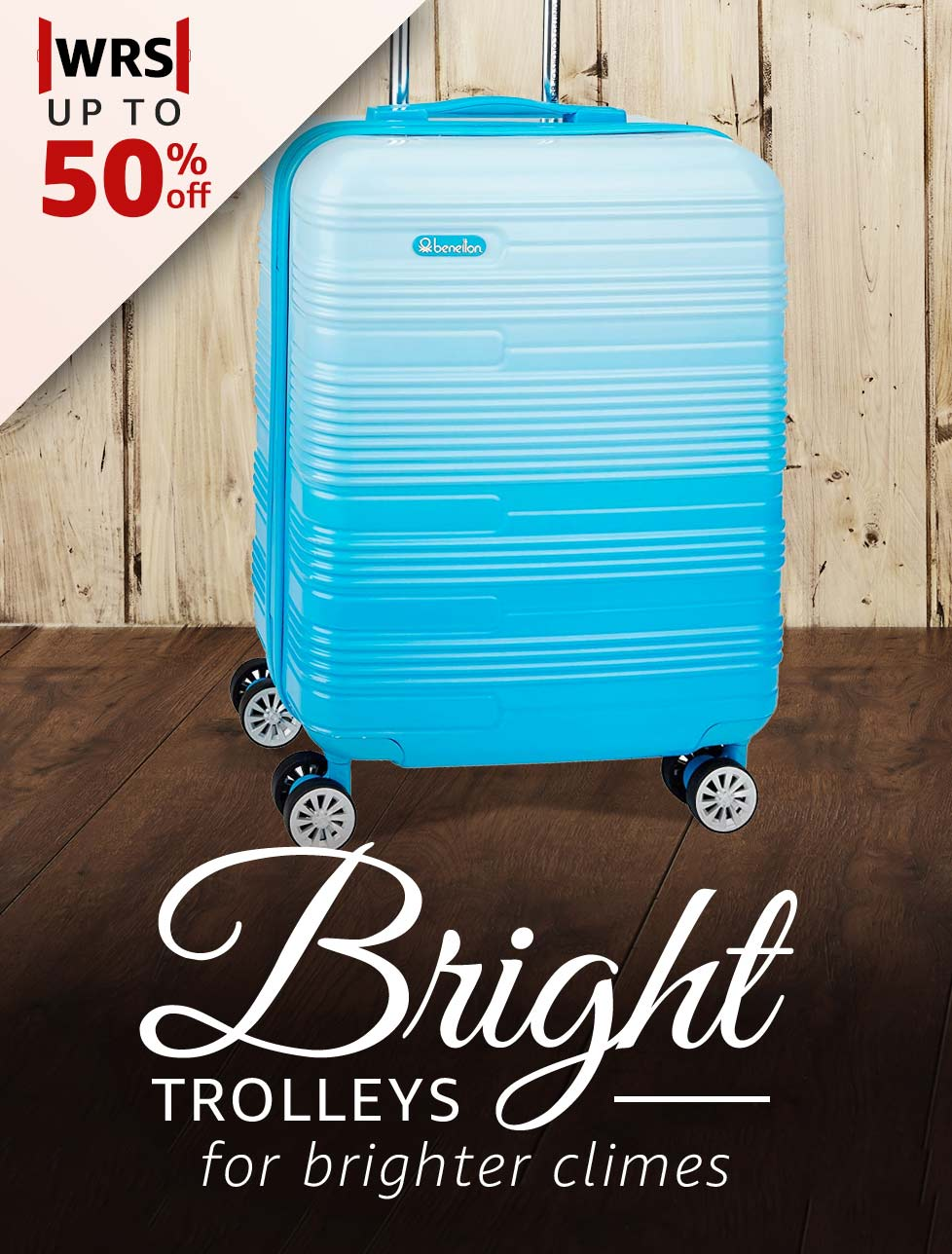 Bright Trolleys for brighter climes