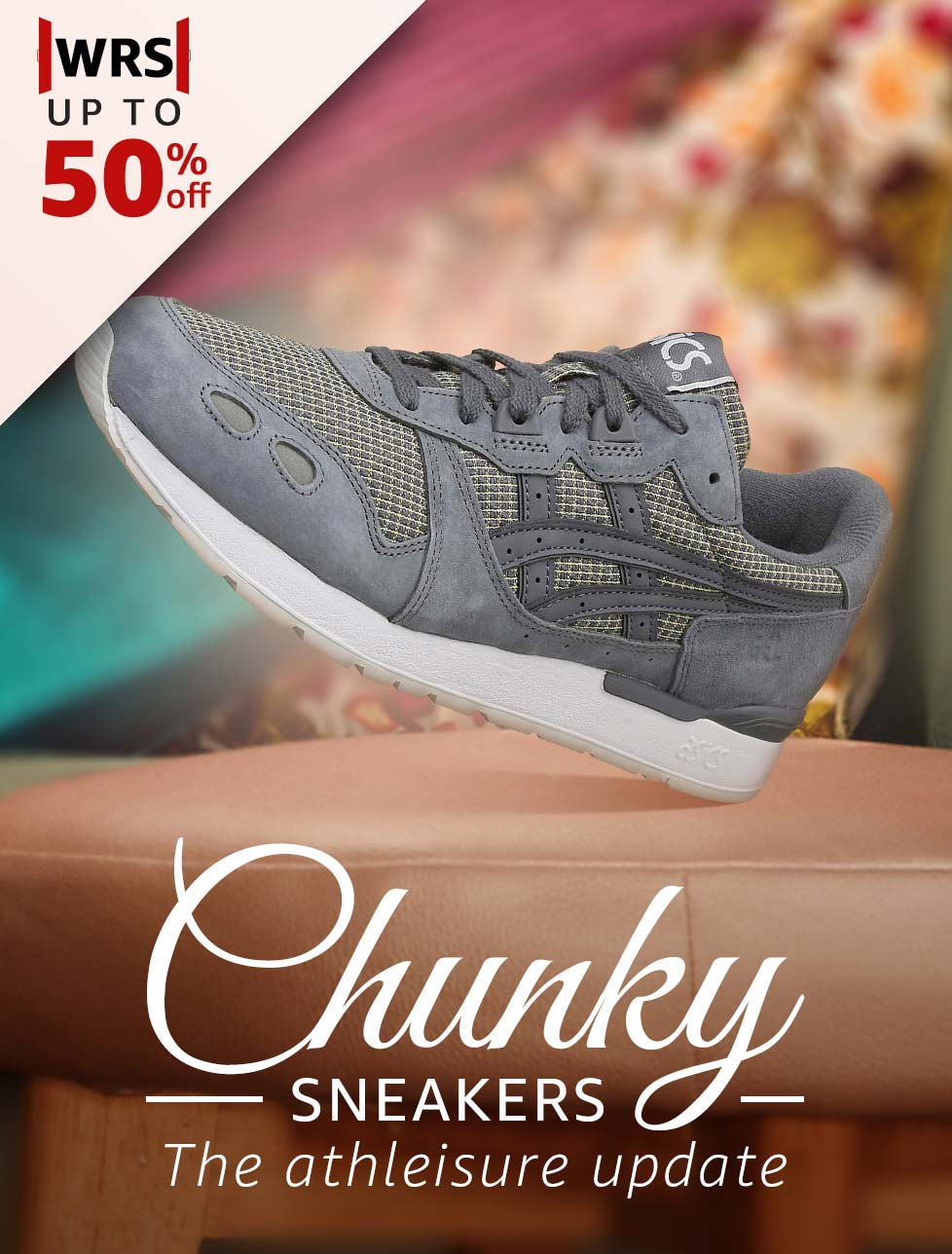 Chunky Sneakers the athleisure update