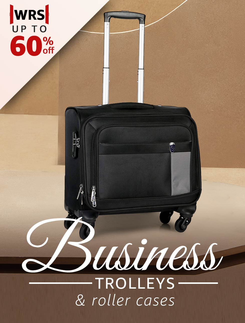 Business trolleys & roller cases