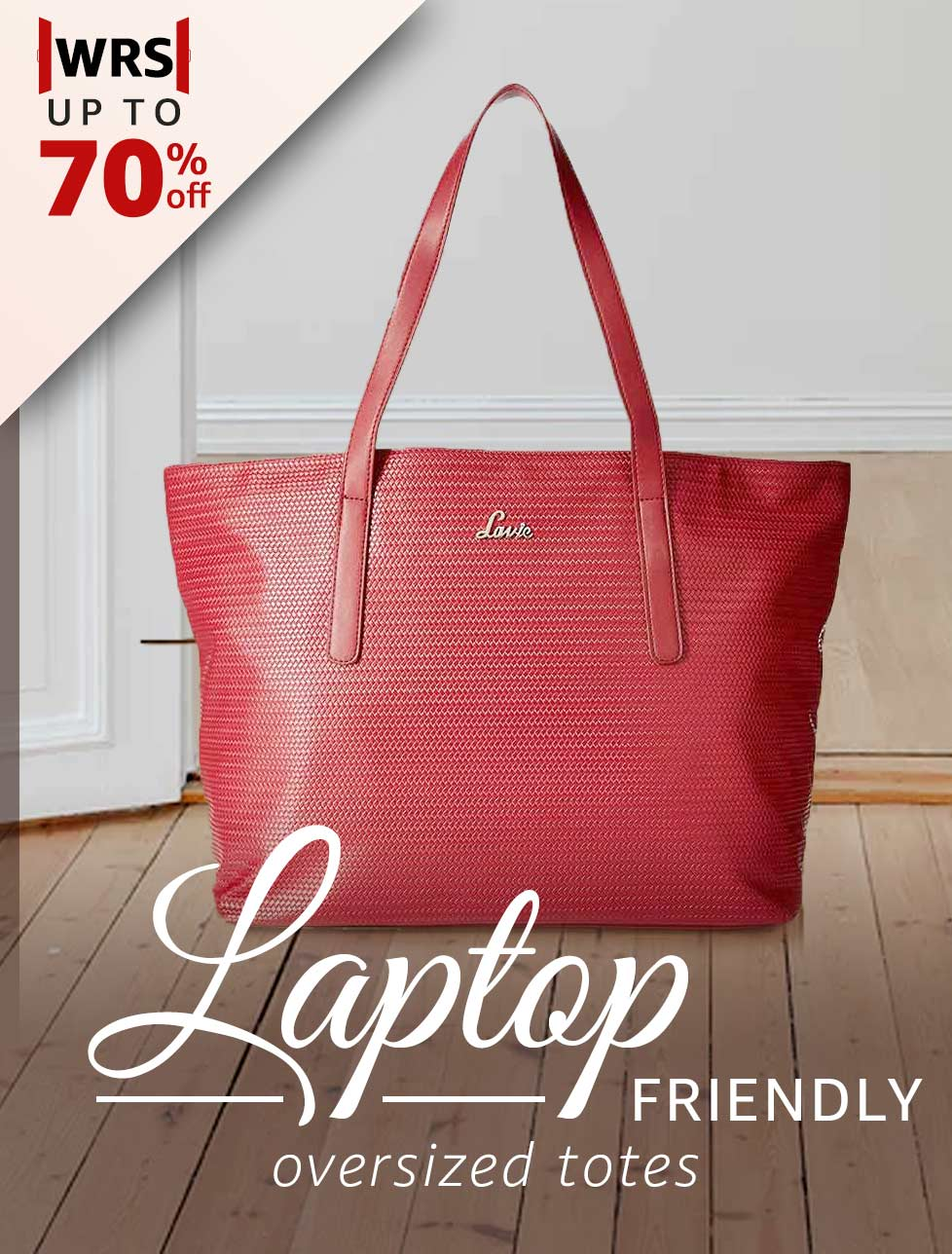 Laptop friendly over-sized totes