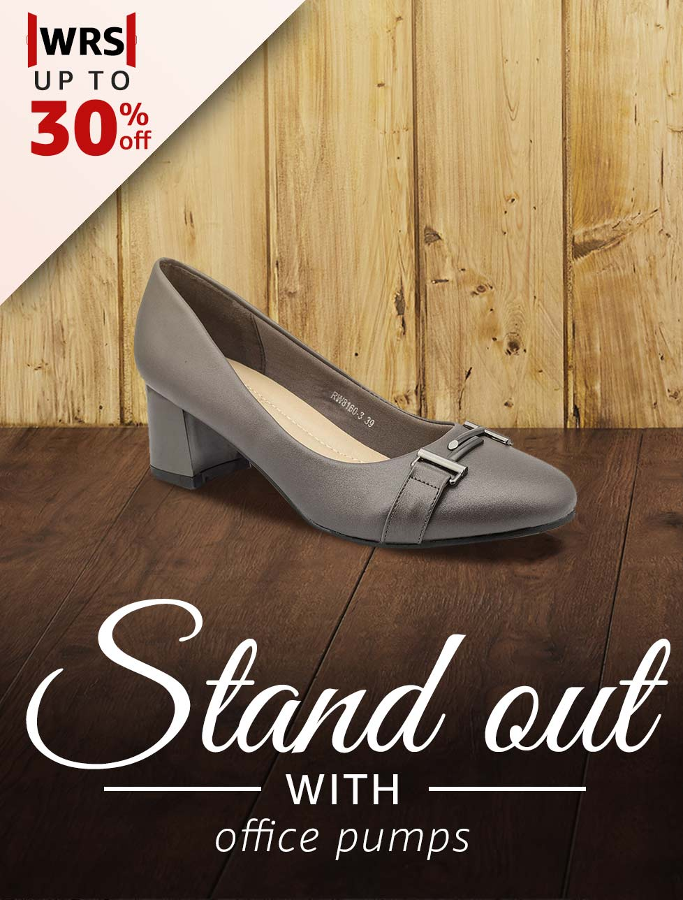 Stand Out with Office Pumps