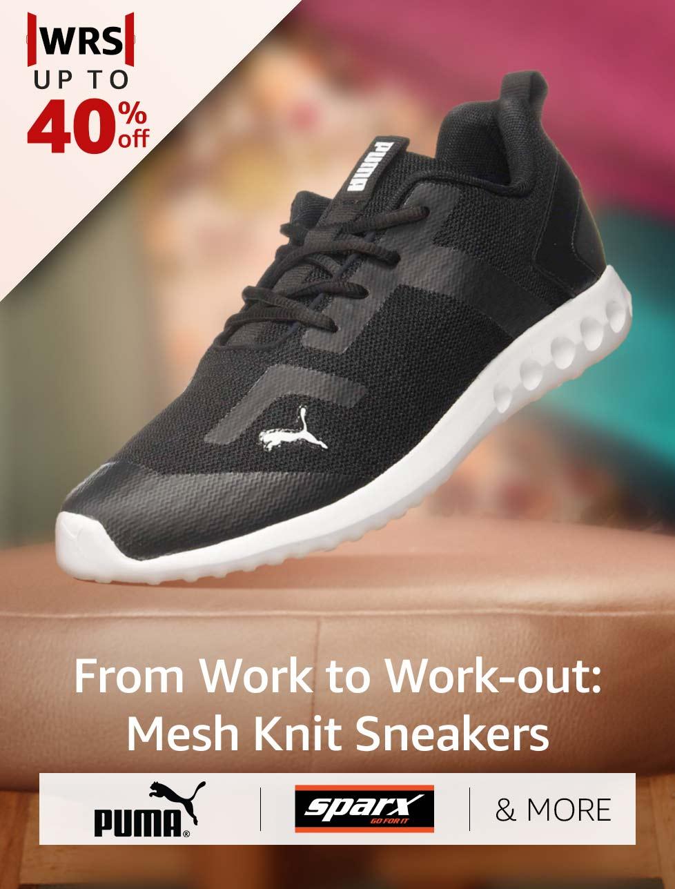 Mesh Knit Sneakers