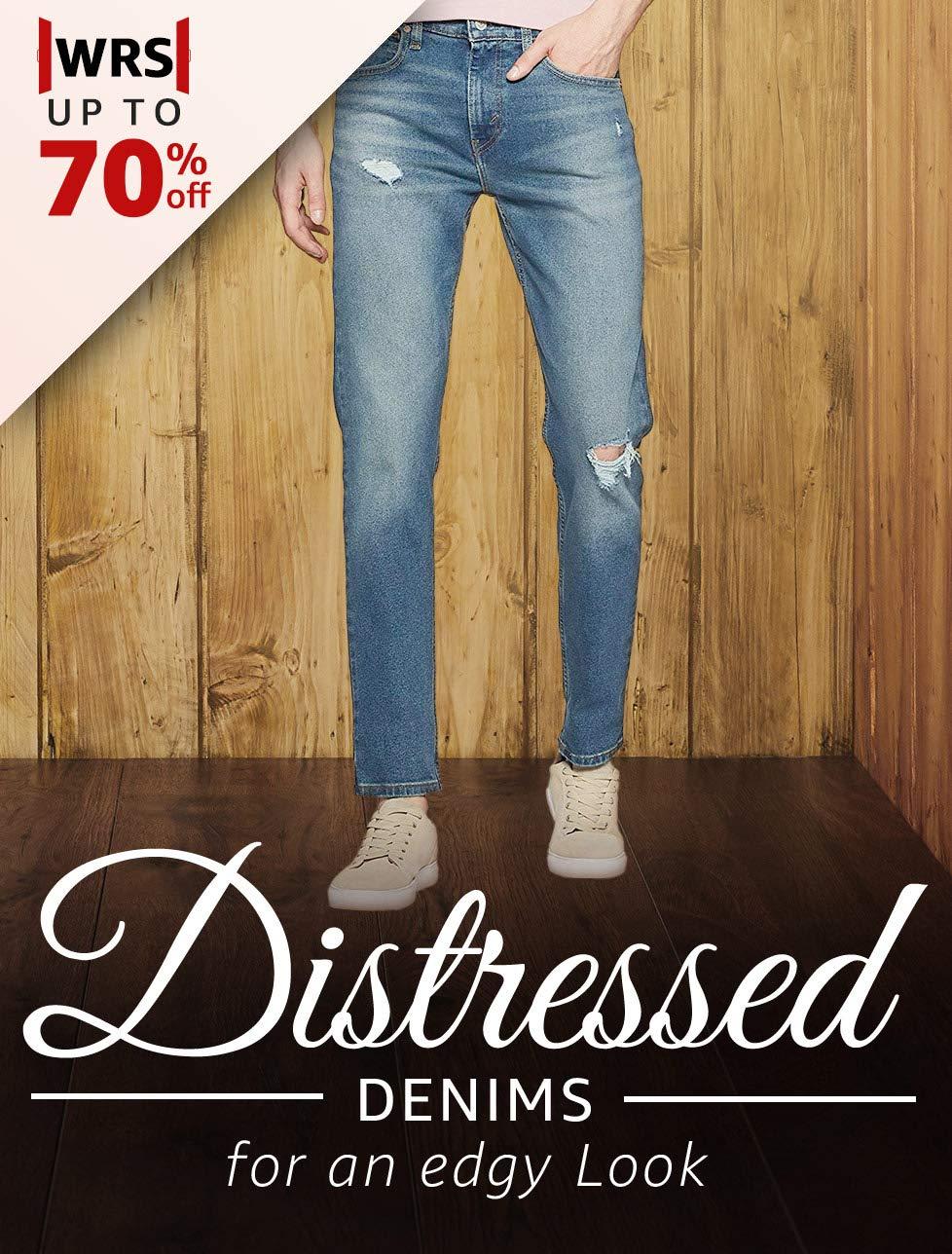 Distressed Denims