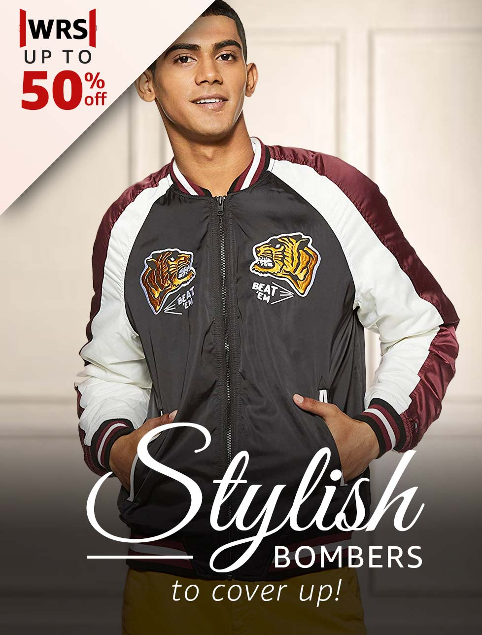 Stylish Bombers to cover up
