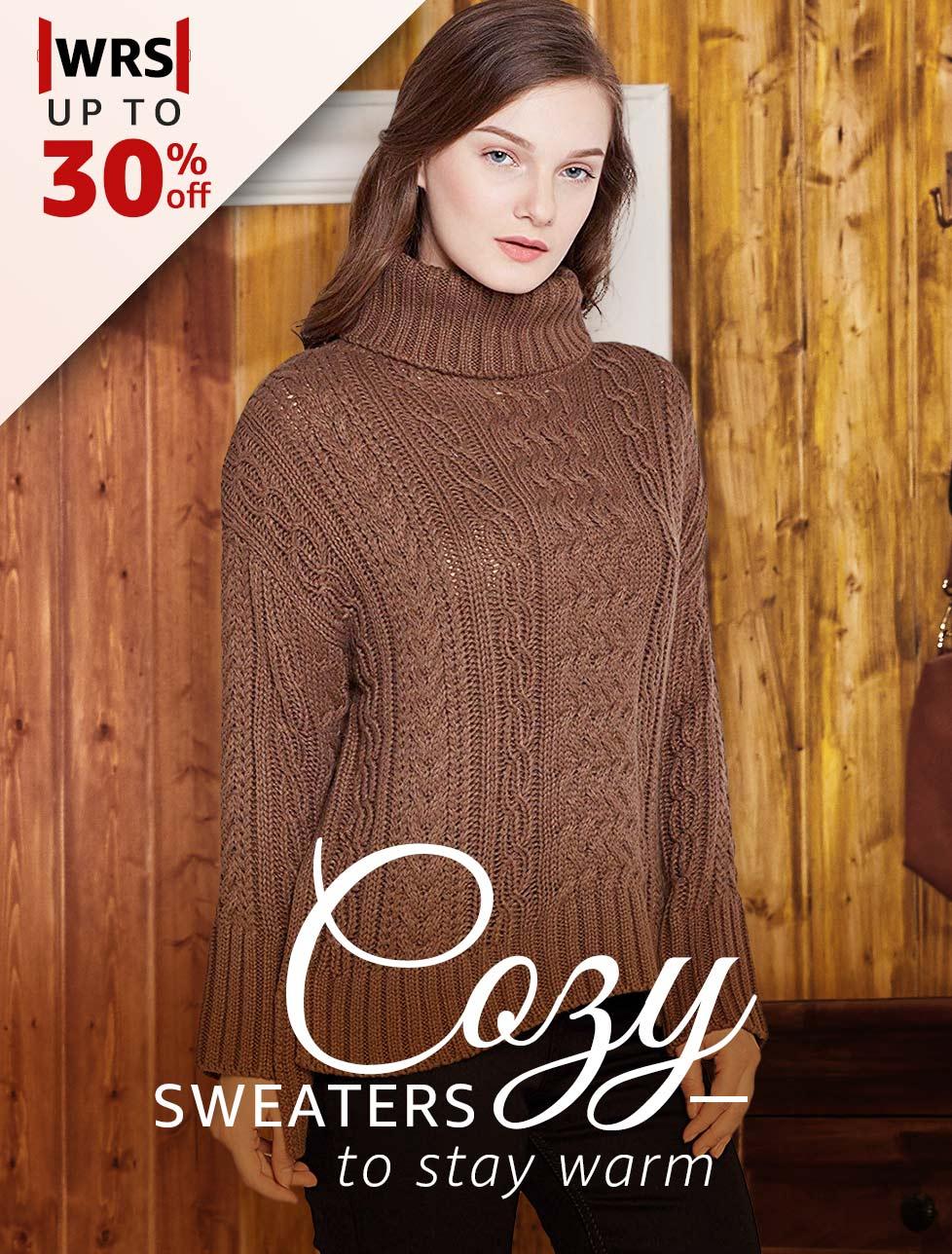 Cozy Sweaters to stay warm