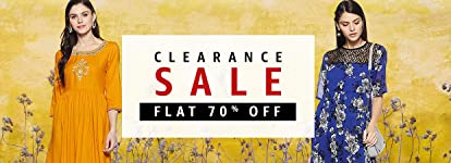 Clearance Sale | Flat 70% off